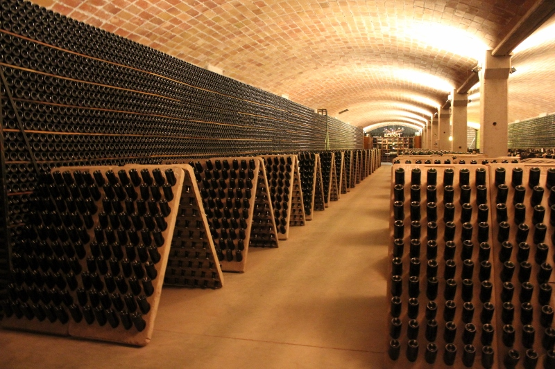Llopart Cava Cave in Spain
