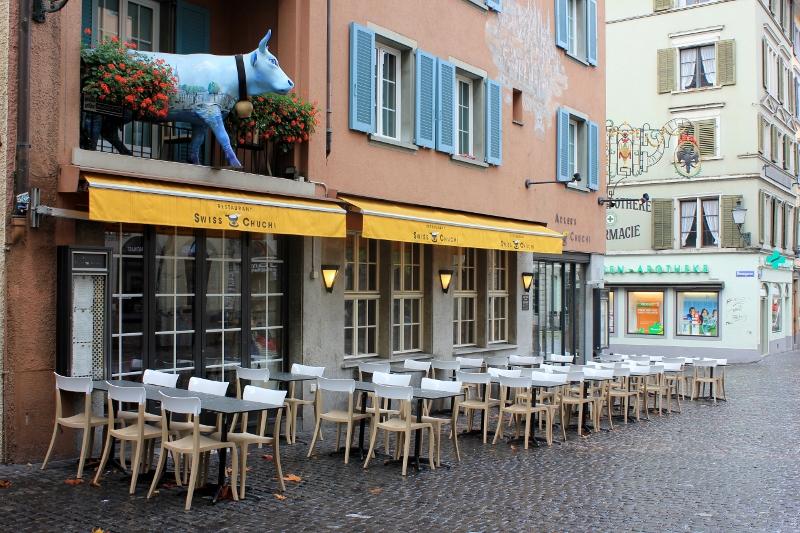 Switzerland fondue in Zurich