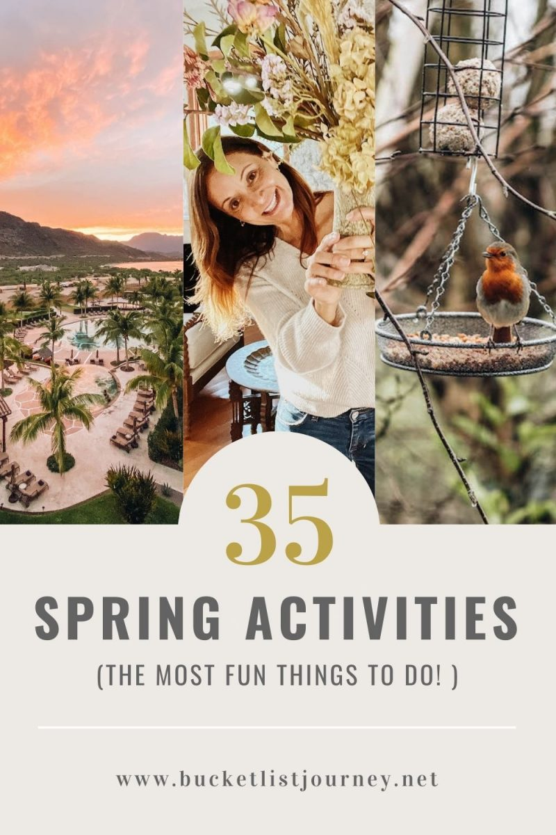 The Best Spring Activities & Things to Do for Your Bucket List