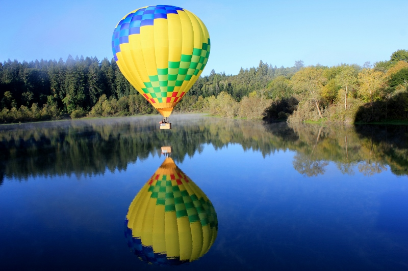 Hot Air Balloon Ride in Sonoma County