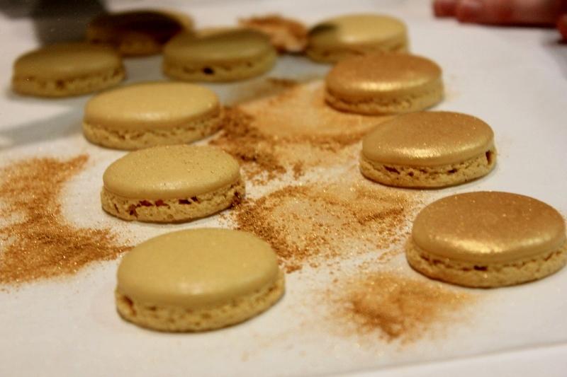 Making Macarons in Paris