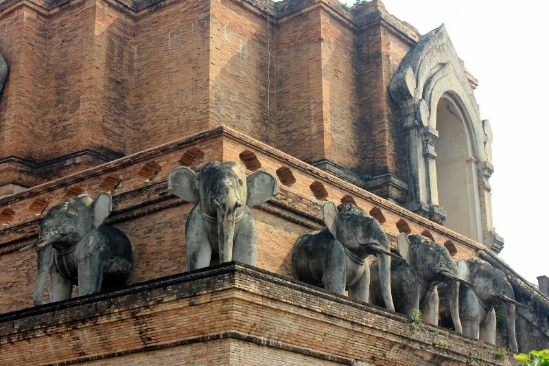 Bells at Wat Chedi Luang Chiang Mai
