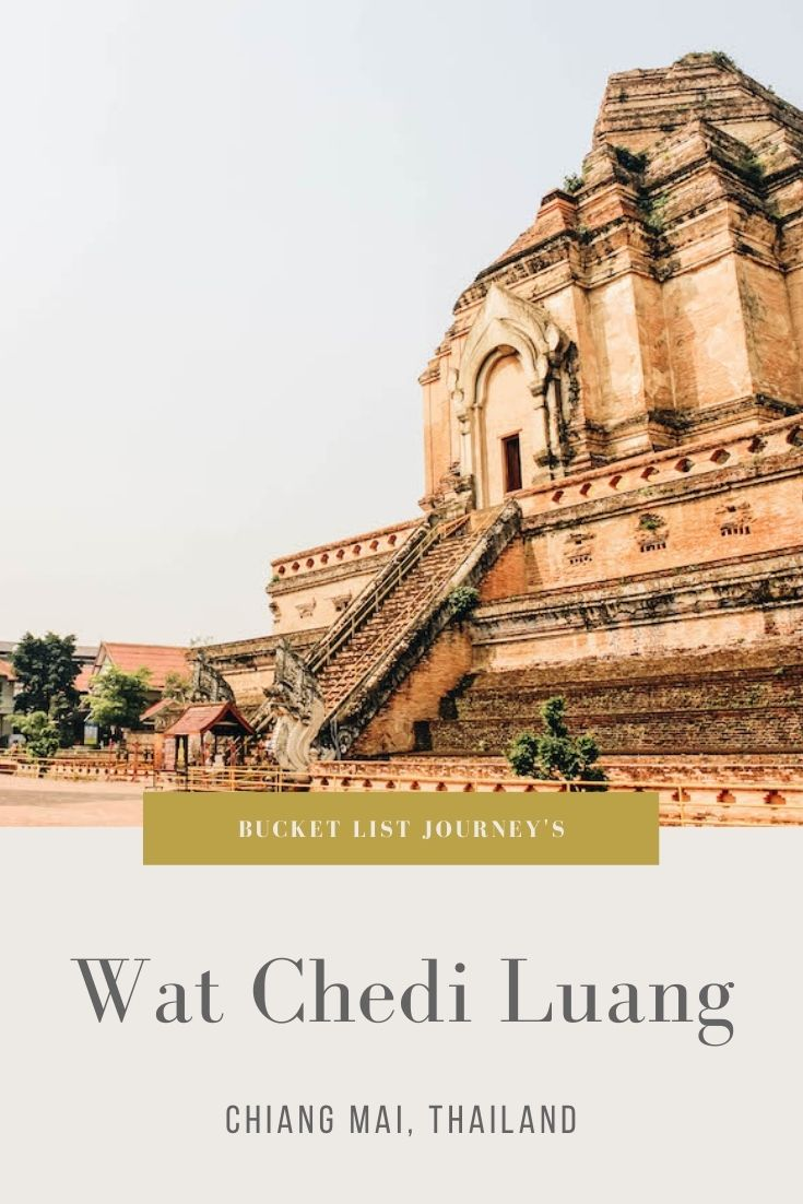 Wat Chedi Luang: A Thai Temple in Chiang Mai's City Center