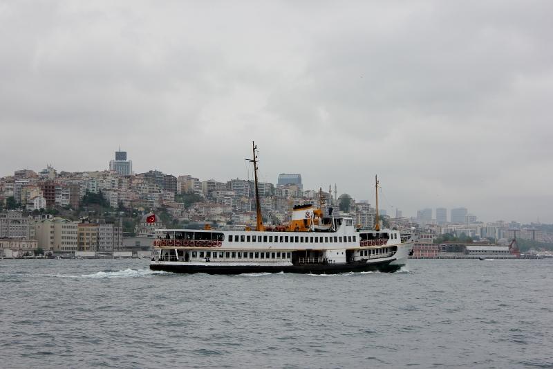 Ferry Ride in Turkey