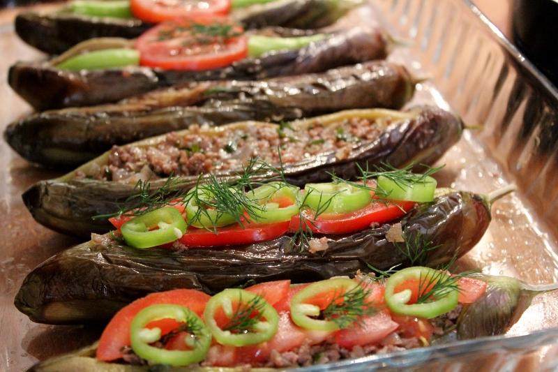 Split Belly Eggplant Turkish Cooking