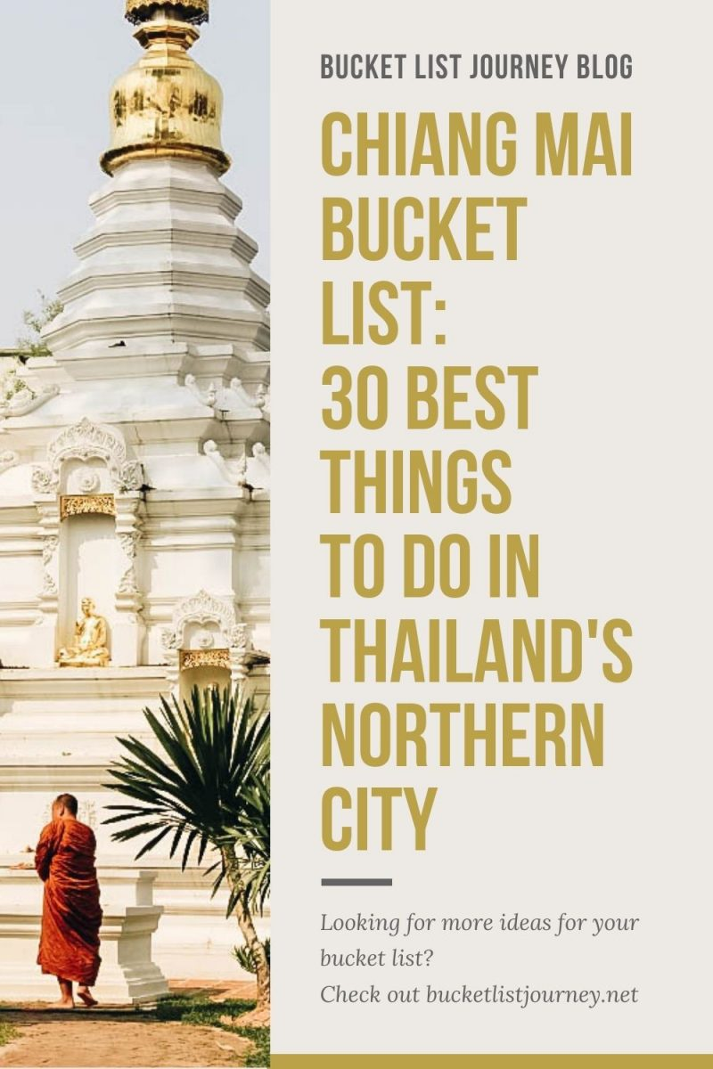 The Best Attractions & Top Things to Do in Chiang Mai, Thailand