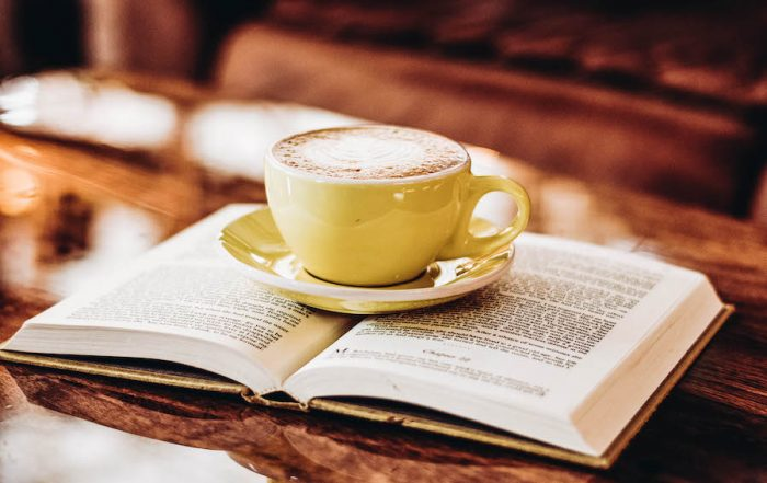 Classic Novel with Coffee