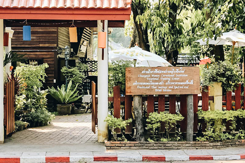 Massage at Women's Correctional Institution in Chiang Mai