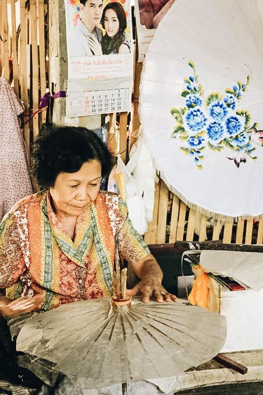 Chiang Mai Attraction: Umbrella Factory