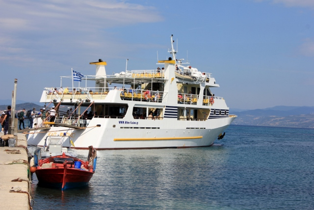 Boat for the Mount Athos Byzantine Monasteries