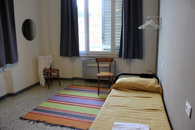 Tasso Hostel Single Room, Florence, Italy
