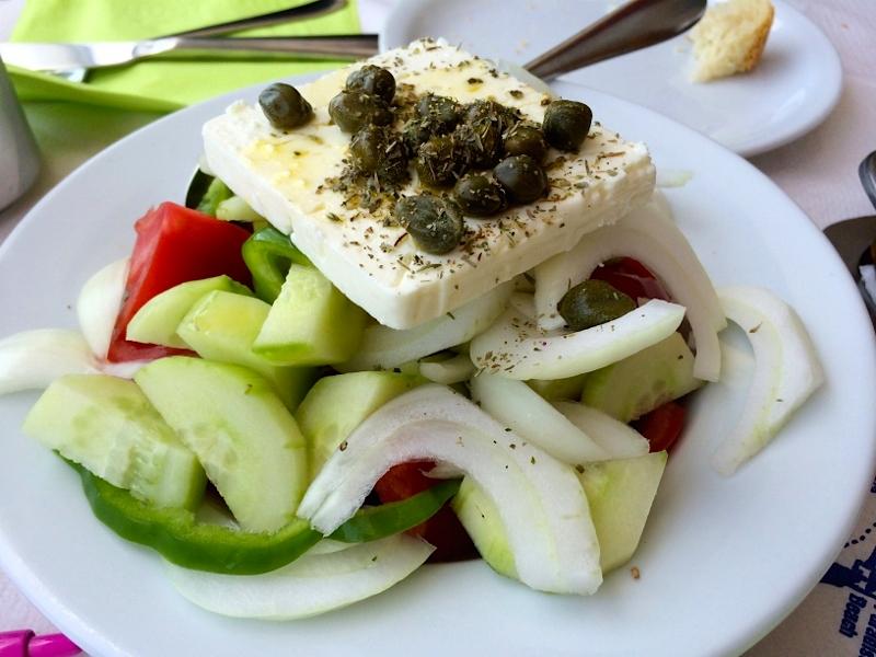Greek Salad in Greece