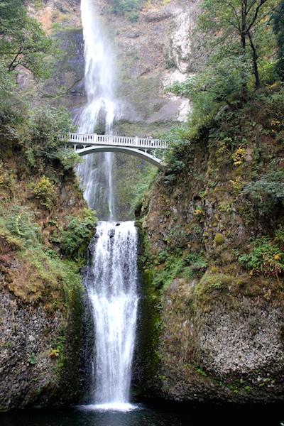 FunThings to do in Portland Oregon: Multnomah Falls