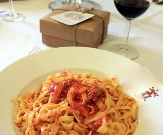 tagliatelle pasta italy
