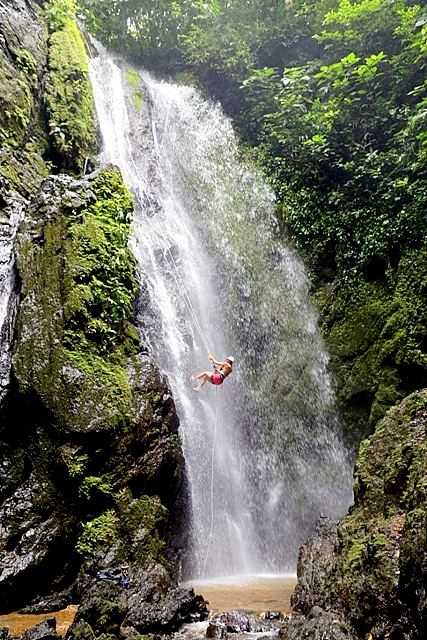 Waterfall Rappel Osa Peninsula, Costa Rica