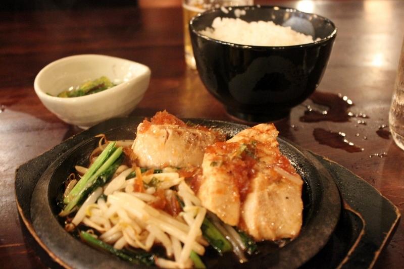 Ahi at Kill Bill Gonpachi Restaurant