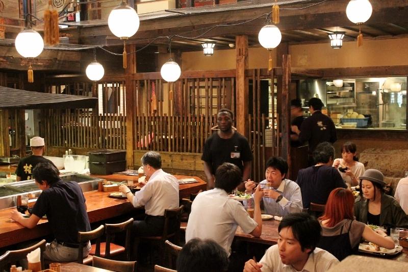 Kill Bill Gonpachi Restaurant in Tokyo