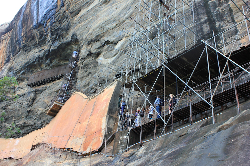 Sigiriya Stairs Sri Lanka