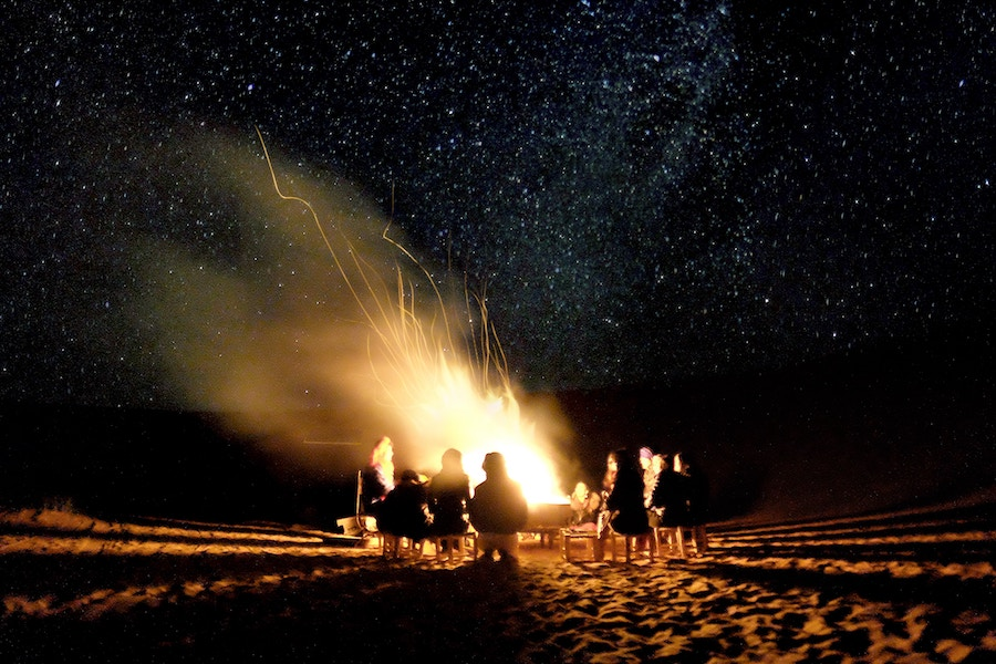 Have a Bonfire: Winter Bucket List Ideas: Fun Activities & Things to Do