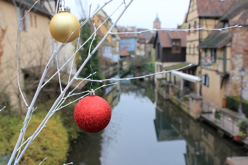 Colmar, France during Christmas