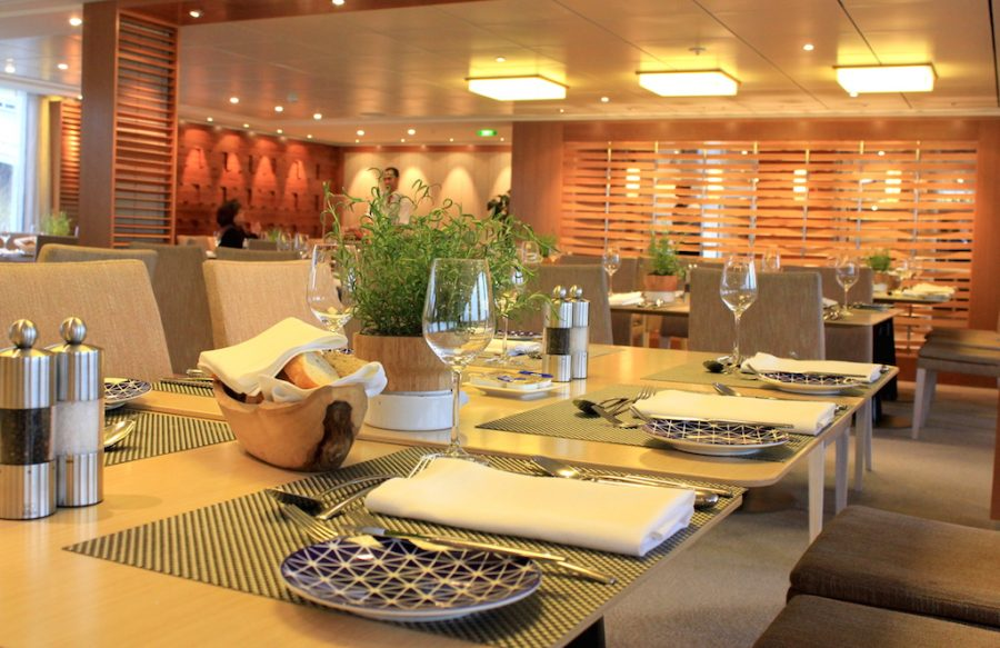 Viking European River Cruise Onboard: Dining Room of the Viking Rhine River Cruise