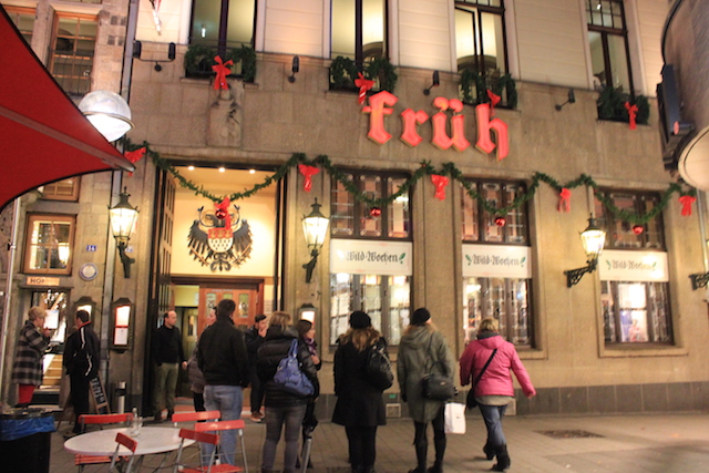 Fruh Kolsch Beer at a Brauhaus in Cologne, Germany