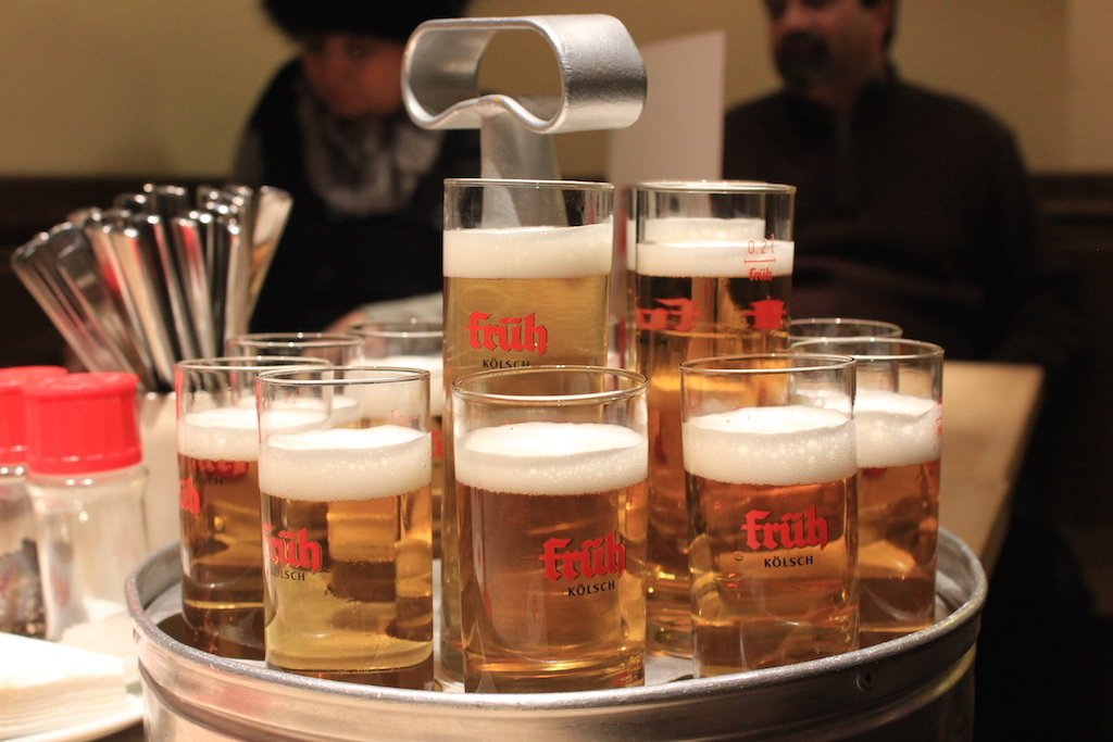 Kolsch Kölsch Beer at a Brauhaus in Cologne