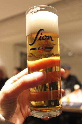 Kolsch Kölsch Beer at Sion Brauhaus in Cologne, Germany