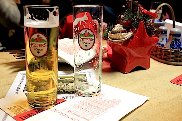 Peter's Brauhaus Kolsch Beer in Cologne Germany Kölsch