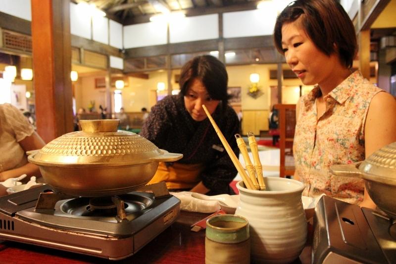 Chankonabe Sumo Wrestler Stew in Tokyo, Japan