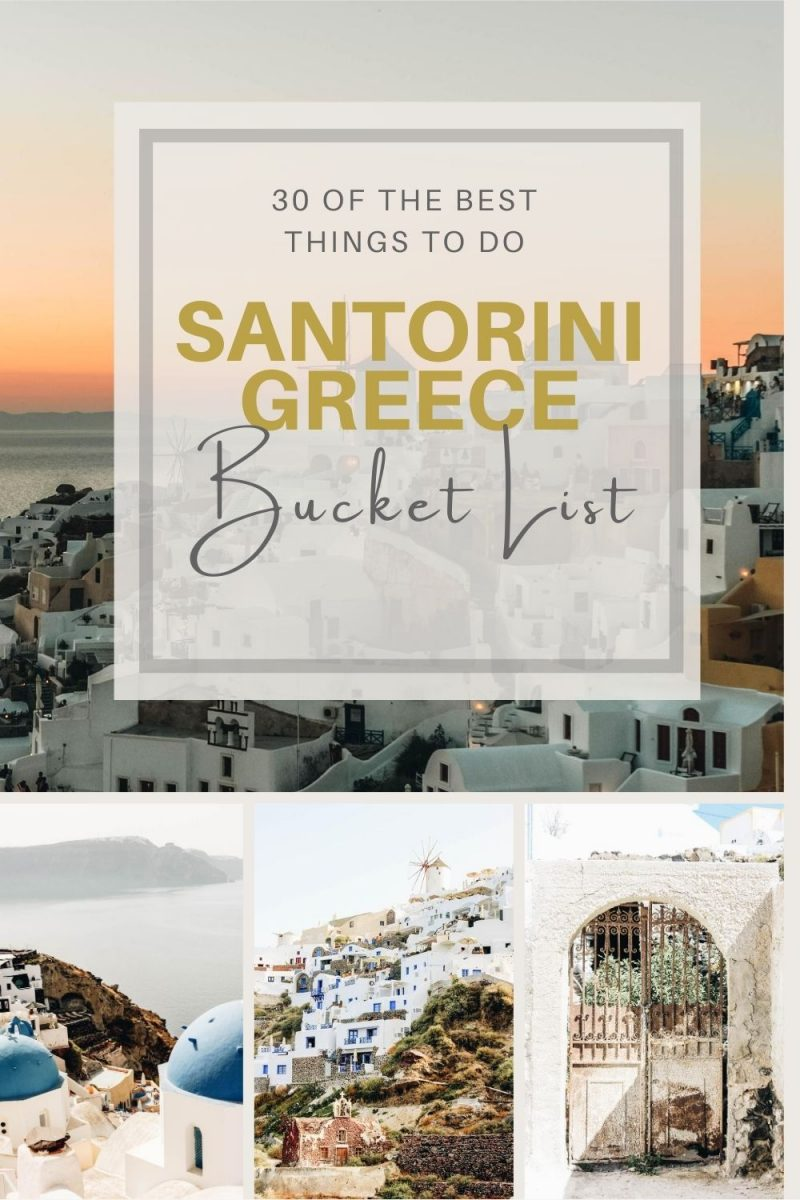 The Best Things to Do in Santorini While on an Epic Holiday