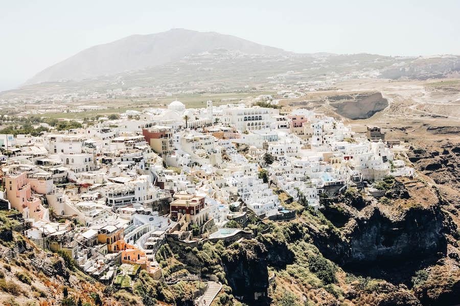 Santorini's Fira to Oia Hike
