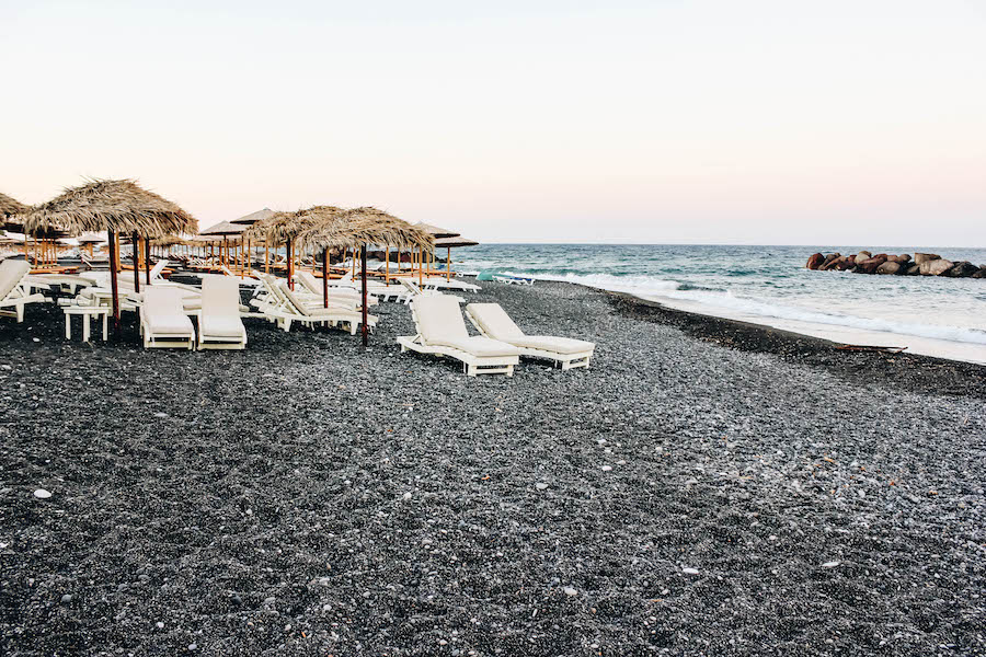 Santorini Black Sand Beach