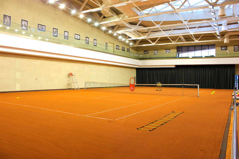 Stejarii Country Club tennis court in Bucharest, Romania