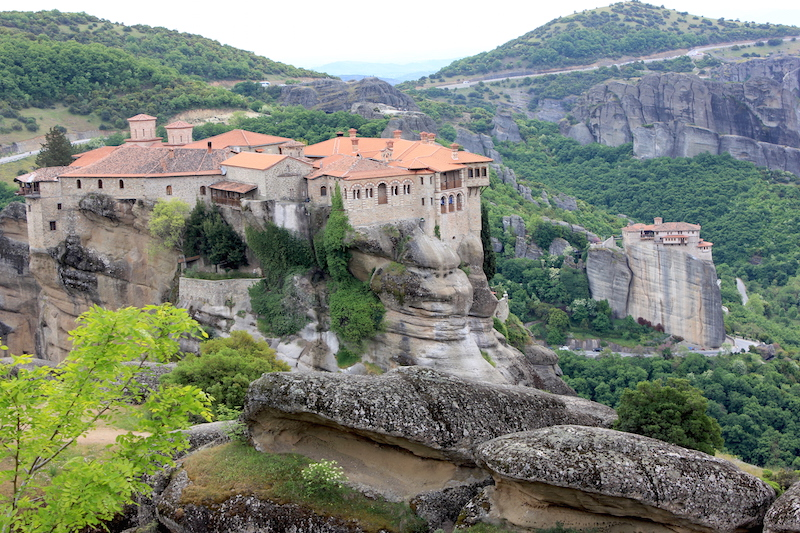 The Meteora Monasteries in central Greece: Top Historical Places: 10 UNESCO World Heritage Sites Around the World