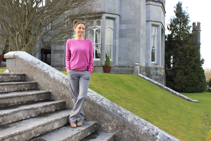 Annette White at Dromoland Castle Ireland