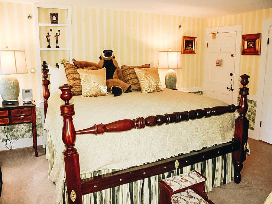 Sleep in a Historic Bed and Breakfast