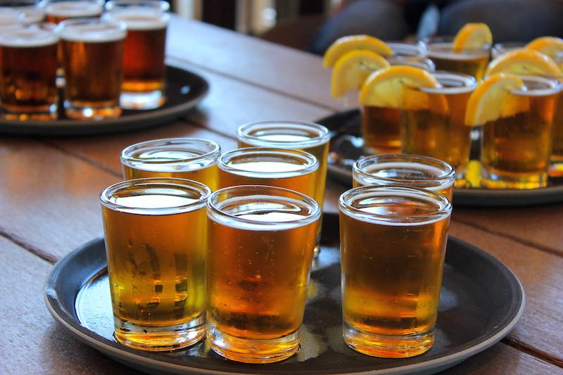 Beer Tasting in Kennebunkport Maine