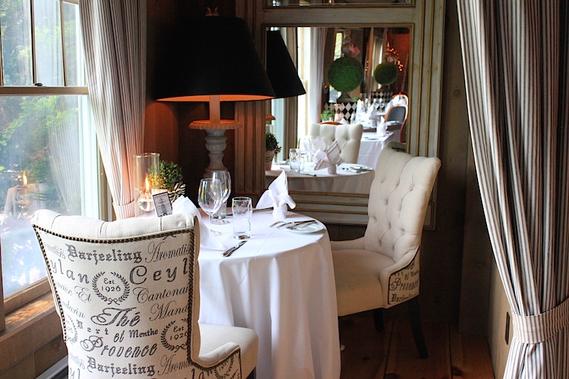 The Romantic Table at On The Marsh in Kennebunkport Maine