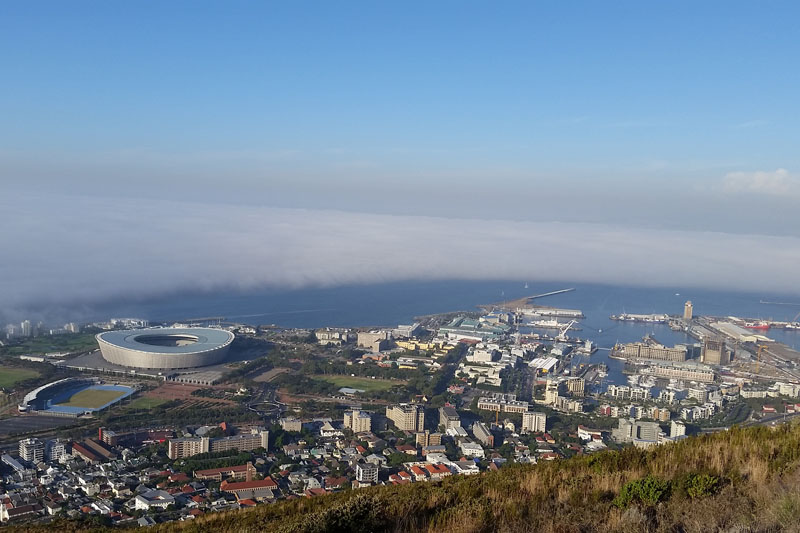 Signal Hill in Cape Town South Africa