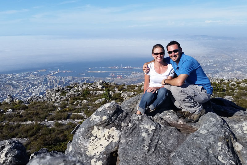Table Mountain in Cape Town South Africa