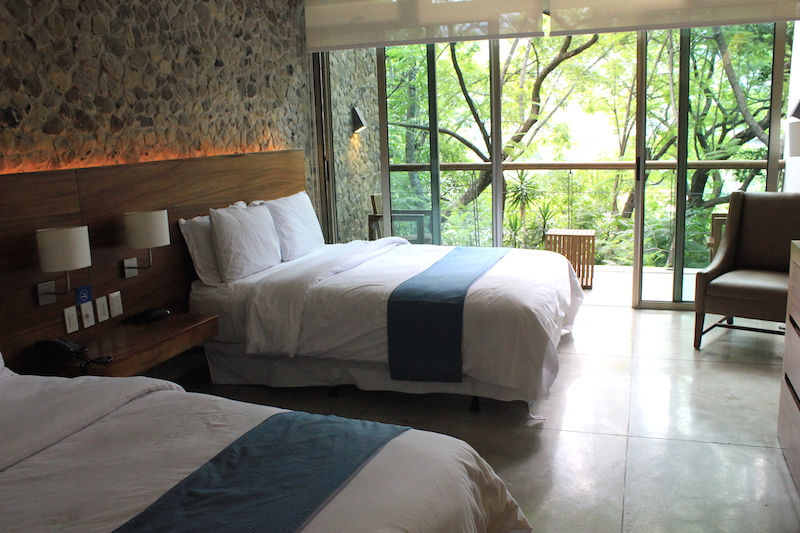 Kawilal Hotel room in Guatemala