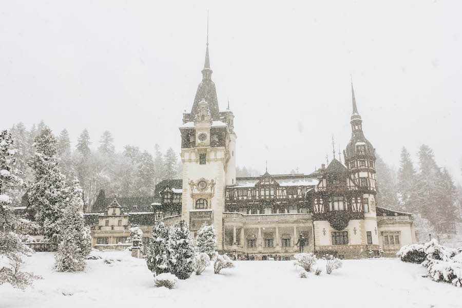 A Tour of Peles Castle in Romania