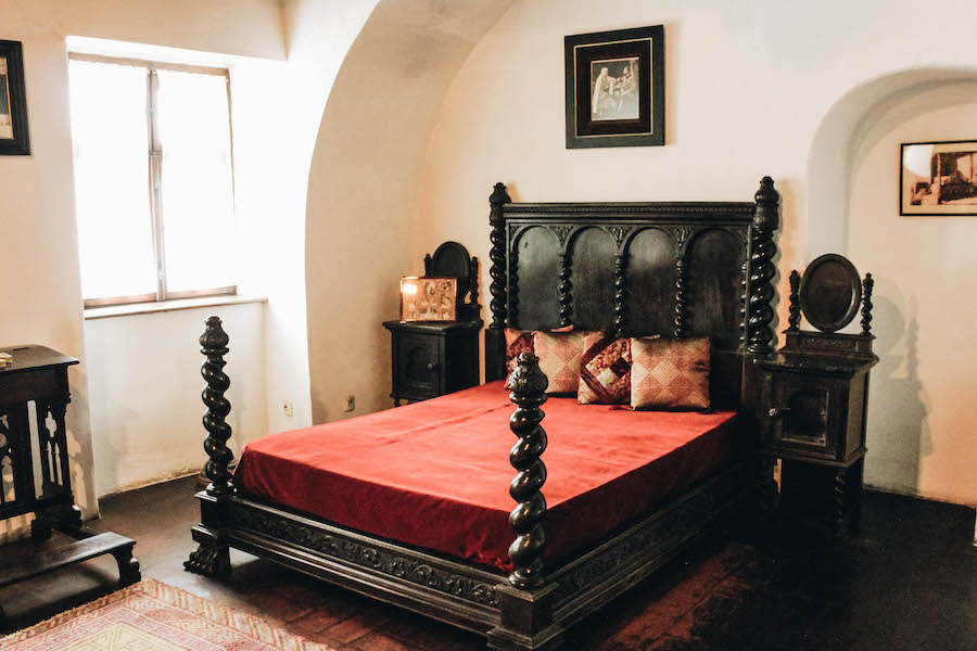 Bed at Bran Castle