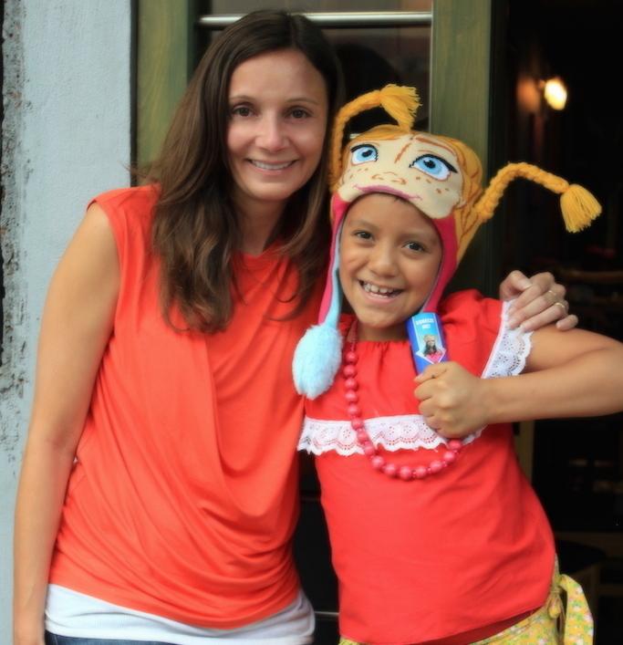 Annette White in Mexico City.