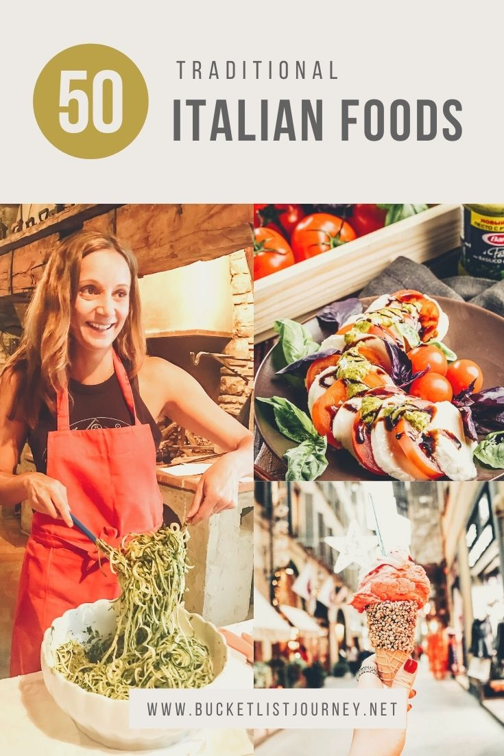 Ultimate Italian Food Bucket List: Best Traditional Foods From Italy to Eat