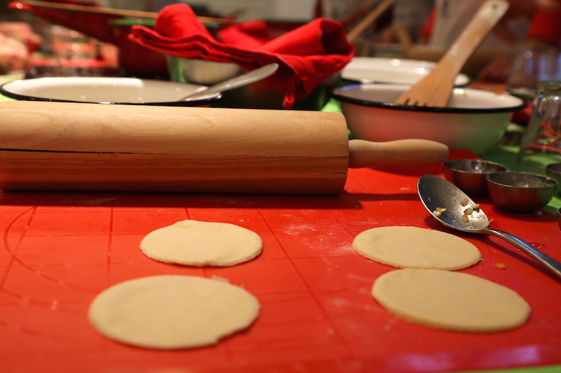 Making Pierogi at a Polish Cooking Class in Warsaw, Poland