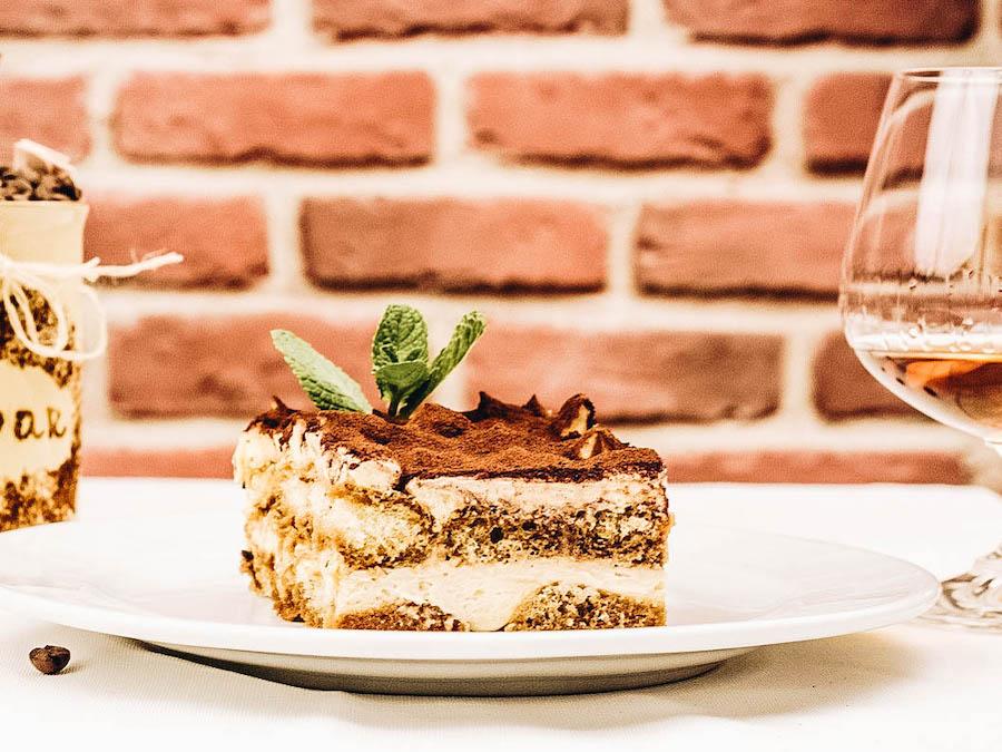Tiramisu dessert from Italy