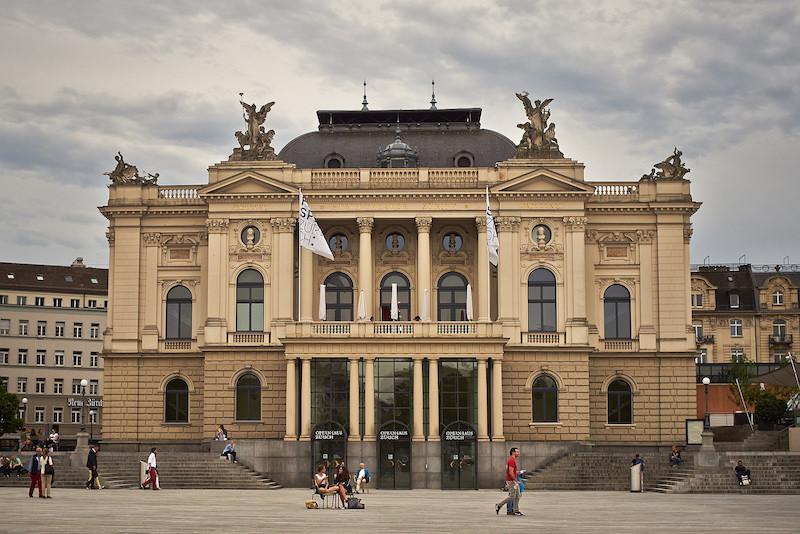 The Opera House in Zurich