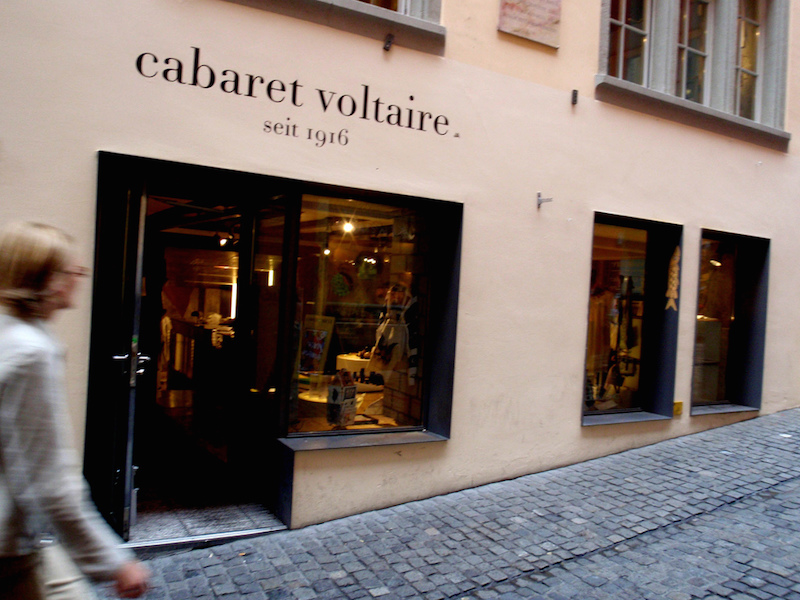 Zurich Things to Do: Cabaret Voltaire